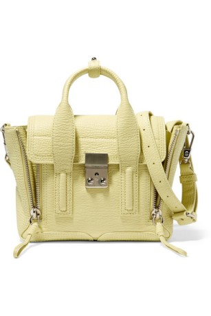 3.1 Phillip Lim Pashli Mini Textured Trapeze Bag $695