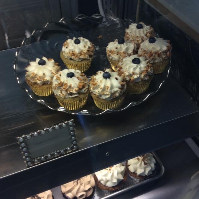 Blueberry Hazelnut Cupcake Frost Me