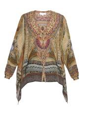 Camilla Ceremony of Truth silk blouse $240