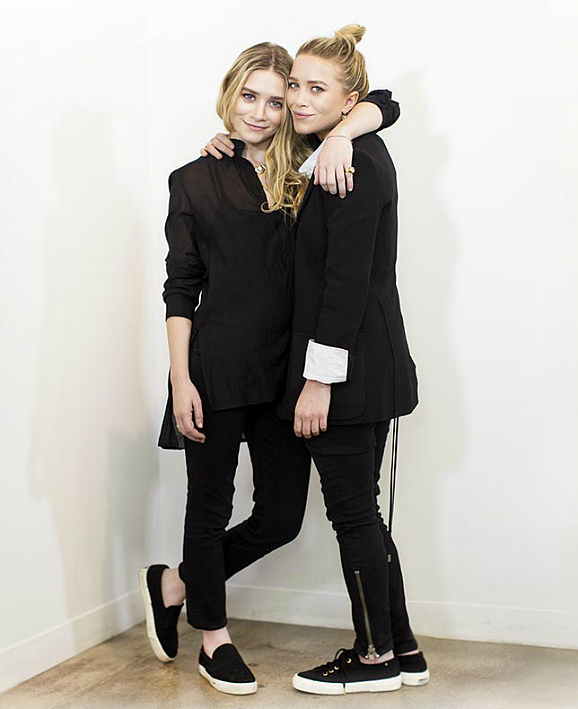 Mary Kate and Ashley Olsen for Superga