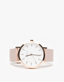 Rose Gold Blush Band Watch Need Supply Co.