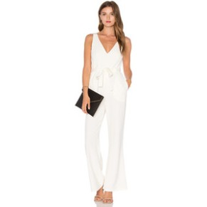 Twin Sister Tie Wrap Jumpsuit