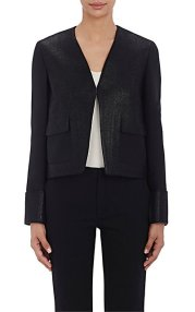 Philosophy Di Lorenzo Serafini Coated-Front Twill Jacket