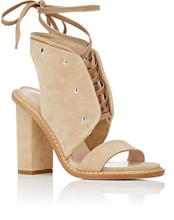 Philosophy Di Lorenzo Serafini Suede Lace-up Sandals